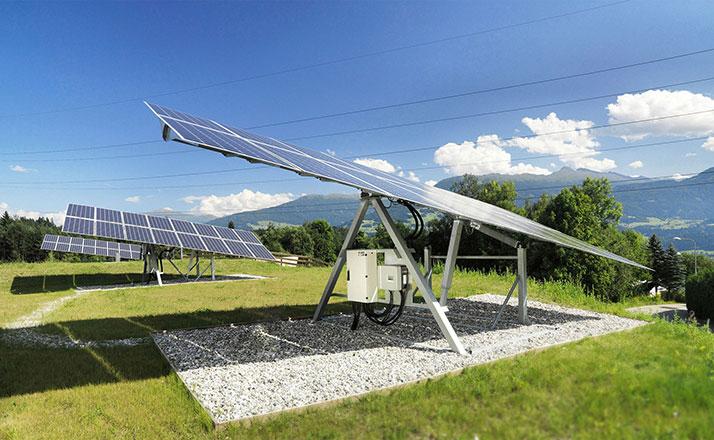 Elevatieverstelling van PV-installaties